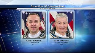 NASA Briefing Previews Upcoming Spacewalks on ISS