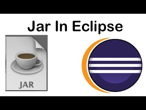 What is Jar file? | How to make a Jar in Eclipse?