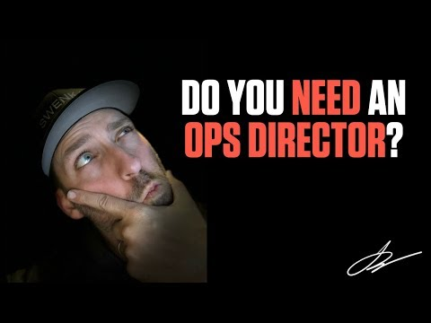 DOES YOUR MARKETING AGENCY NEED AN OPS DIRECTOR? | Creative Agency Advice | SwenkToday #98