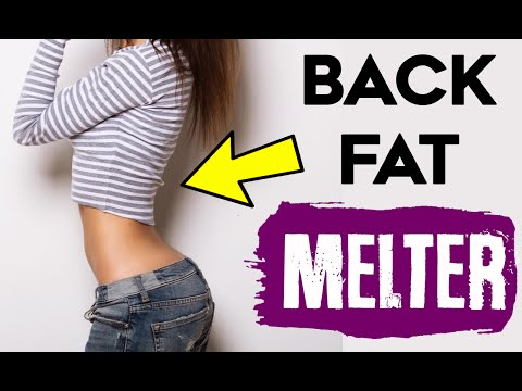 💚 How To Lose Back Fat For Women |  4 FAT MELTING Back Exercises For Women!