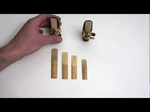 Saxophone Lesson - Saxophone Reeds-How to choose and adjust them