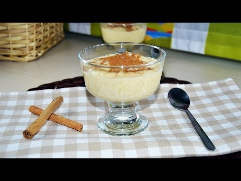 Rice Pudding with Sweetened Condensed Milk - Quick & Easy Rice Pudding Recipe