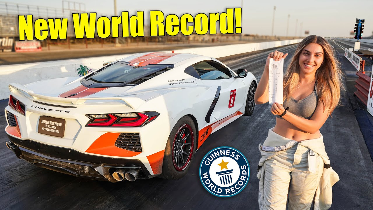 We Broke The WORLD RECORD AGAIN!!! Fastest C8 Corvette On Planet Earth!