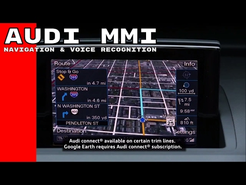 Audi MMI Navigation & Voice Recognition System