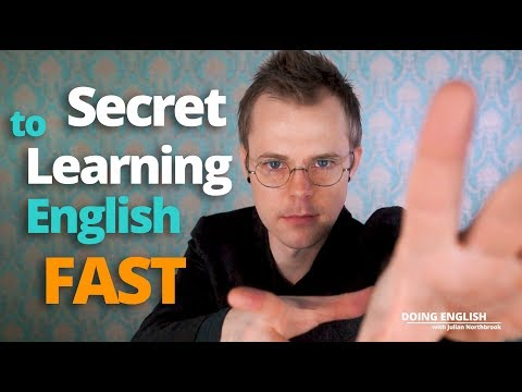 #1 Secret to Learn English FAST (do this to improve quickly)