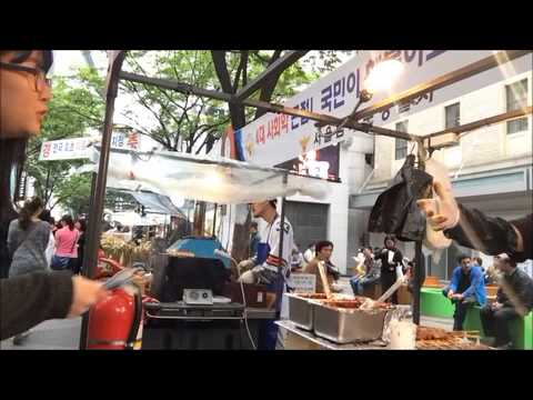 Street Food Attack in Myeongdong(Bonus Video)