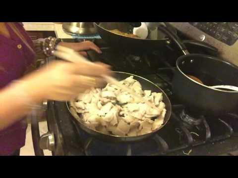 Cooking BANH XOI STUFFING