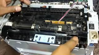 How to repair Paper Jam Problem in HP Printer M1005 (हिन्दी