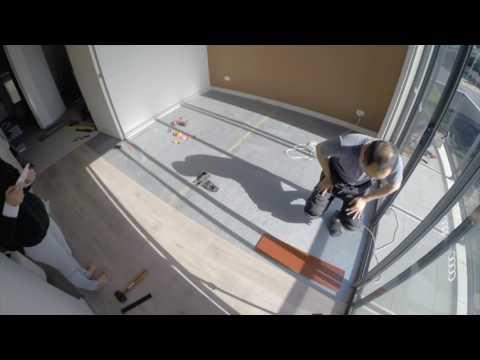 Replacing carpet with laminate flooring - DIY