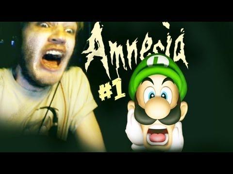 BOOM HEADSHOT! - Amnesia: Custom Story - Part 1 - Nintendo Castle Horror