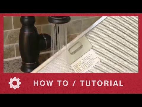 Washing your Range Hood Grease Filter