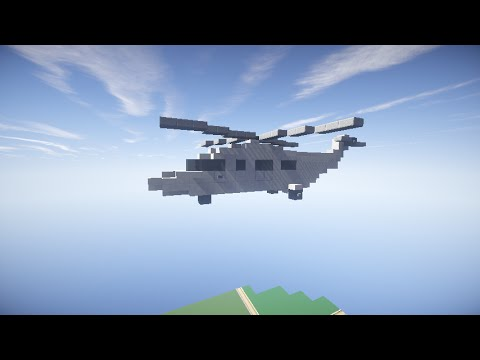 Minecraft How to Build:Private Helicopter