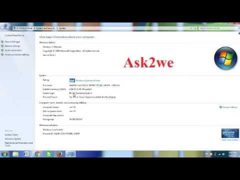 How To Check My Window OS Is 32 bit Or 64 bit