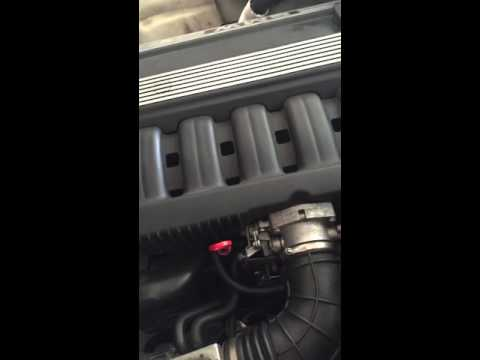E34 brake booster check valve leak
