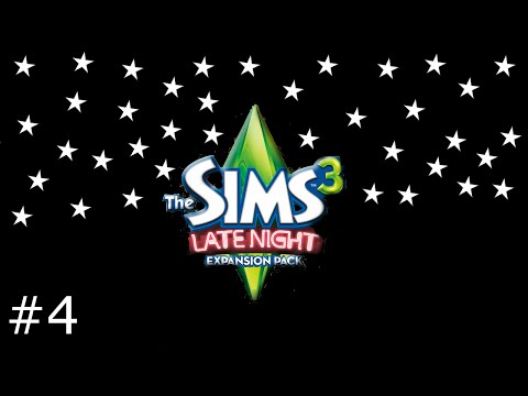 Let's Play The Sims 3 Late Night (Part 4)- Date with A Vampire!