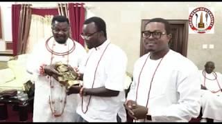 The Great Benin Descendants Visit Olu of Warri