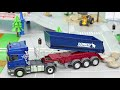 Tractor Fire Truck Excavator Garbage Trucks Police Cars Construction Toy Vehicles For Kids