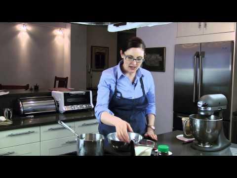 Layered Chocolate Truffle Cake : Recipes for Chocoholics