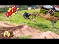 Secret Dirt Jumps #7 Backflipping the Heavy Hitters and racing/ jumping Motorcycles.