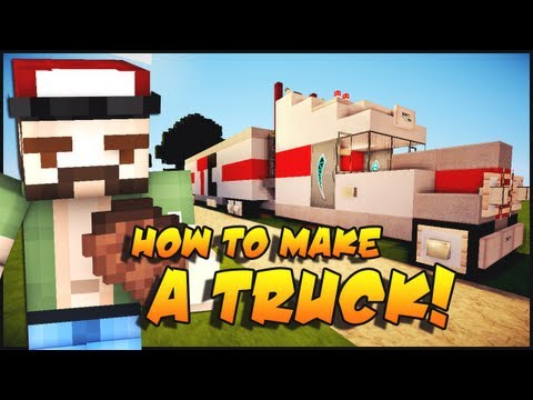 Minecraft: How To Make a Truck