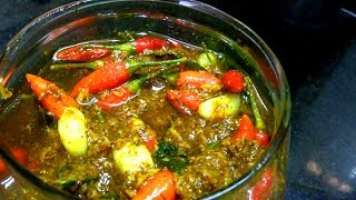 CHILLI GARLIC PICKLE  │ Veg Recipe - By Taj Kitchen