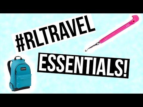 Rainbow Loom Travel Essentials/What I'm Packing | #rltravel