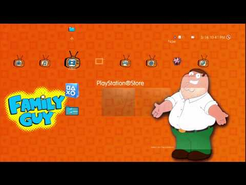 PS3 Family Guy Theme - PlayStation Store
