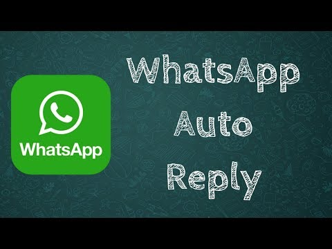 WhatsApp Auto Reply | AutoReply for WhatsApp Messenger | Special Feature