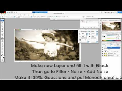 Adobe Photoshop Tutorial 01 - Making Your Pictures Look Older