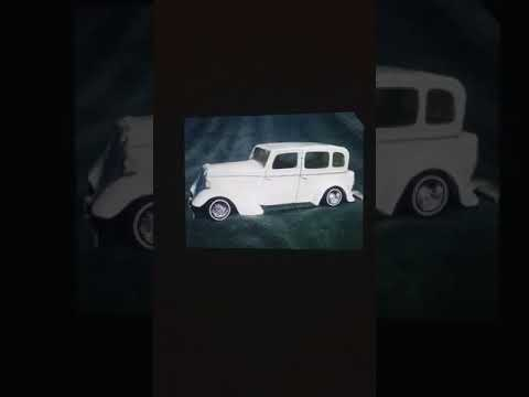 5 model cars I made from ONLY PAPER 20 years ago!