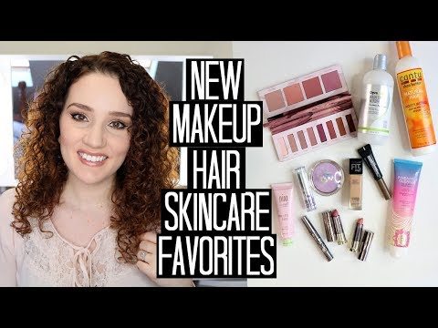 New Makeup, Hair Products, & Skincare Favorites for Spring