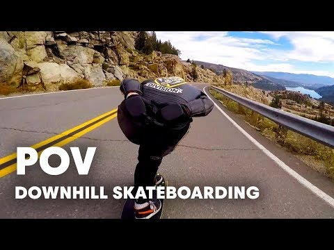 Bombing Cannibal Canyon: GoPro View | Downhill Skateboarding POV