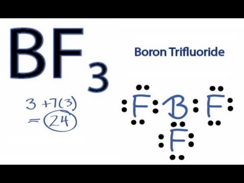 BF3 Lewis Structure: How to Draw the Lewis Structure for BF3