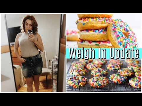 WEIGH IN UPDATE / WEIGHT WATCHERS / POINTS PLUS / ITRACKBITES / DANIELA DIARIES