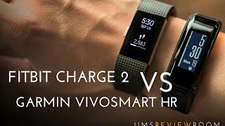 Fitbit Charge 2 Vs Garmin Vivosmart Hr Comparison