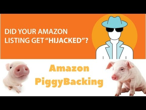 Amazon PiggyBacking Someone Told Me to Get Off Their Listing... Should I?