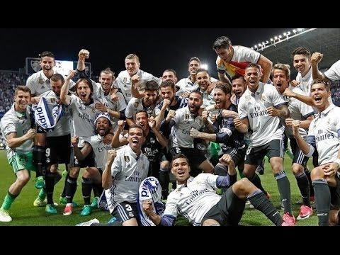 Malaga 0-2 Real Madrid [HD] Partido Completo Full Match | COPE | Campeones Liga 2017