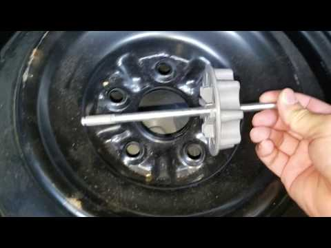 How to remove Spare Tire in Toyota Camry 2006-2011