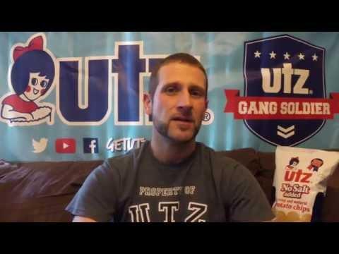 Utz Quality Foods Review #16 No Salt Potato Chips!