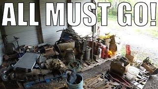 ESTATE AUCTION - Farm Auction with Primitives Antiques Snap On Tools