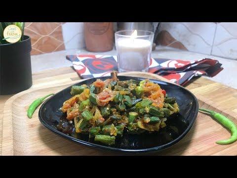 Masala Bhindi (Okra) Recipe | Cook With Fariha (2018)