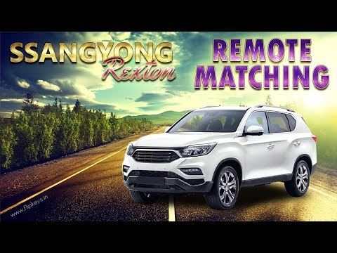 Ssangyong Rexton Remote Matching using X100