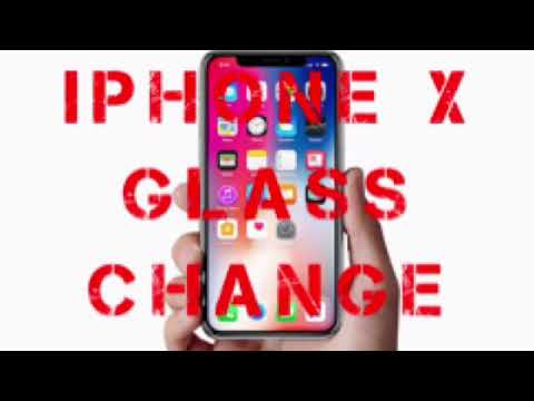 iPhone X Glass Change Done