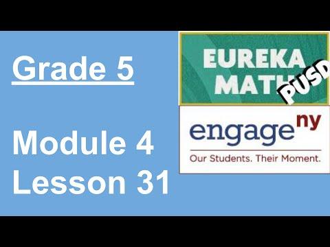 Eureka Math Grade 5 Module 4 Lesson 31