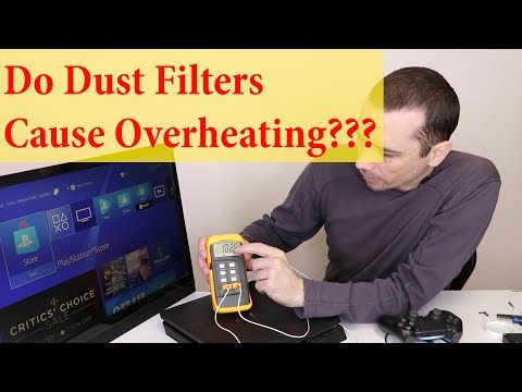 PS4 Slim Dust Filters - Good or Bad???