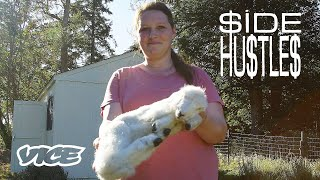 The Woman Surviving Off of Freeze Dried Dead Animals | SIDE HUSTLES