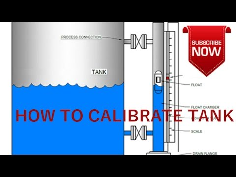 HOW TO  CALIBRATE  A  VERTICAL  CYLINDRICAL  TANK