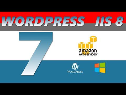 Installing SMTP for IIS Wordpress - AWS EC2 2016