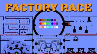 24 Marble Race EP. 11: Factory Race