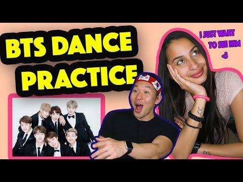 BTS - Silver Spoon (BAEPSAE) Dance Practice REACTION VIDEO!!